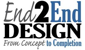End2End Design logo